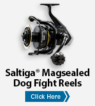 Saltiga® Magsealed Dog Fight Reels
