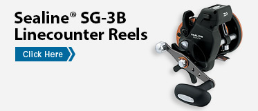 Sealine® SG-3B Linecounter Reels