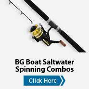 BG Boat Saltwater Spinning Combos