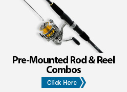 Pre-Mounted Rod & Reel Combos