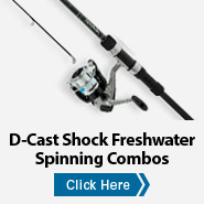 D-Cast Shock Freshwater Spinning Combos