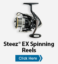 Steez® EX Spinning Reels
