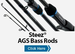 Steez® AGS Bass Rods